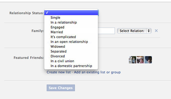 tips to use Facebook appropriately while dating someone